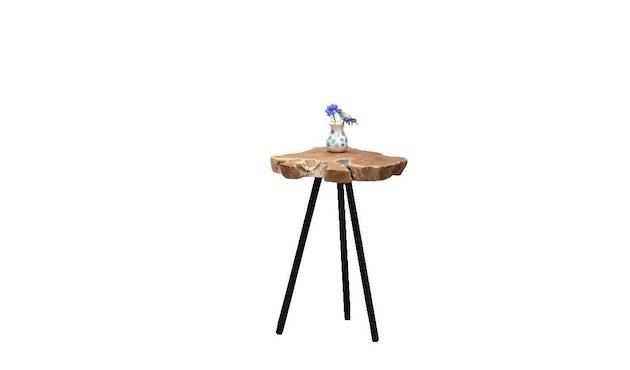 Jan Kurtz - Riff Top Tisch - weiß/natur - 47 x 60 - 1