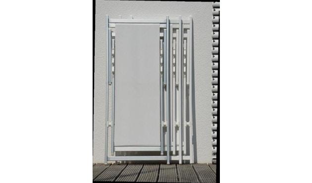 Jan Kurtz - Rimini Liegestuhl - Gestell eloxiert - weiß - 1