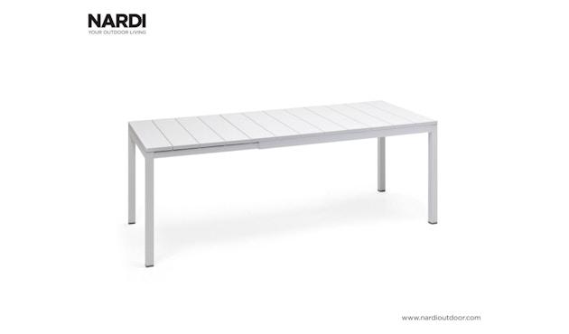 Nardi - Rio Ausziehtisch - weiß - 1
