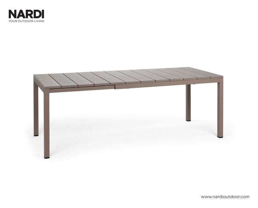 Nardi - Rio Ausziehtisch - grau - 1