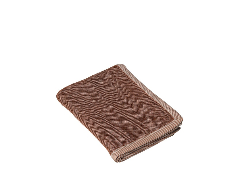 Muuto - Ripple Tagesdecke - Brown - 1