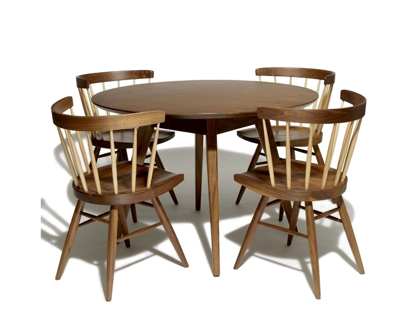 Knoll International - Nakashima Straight Chair - 8