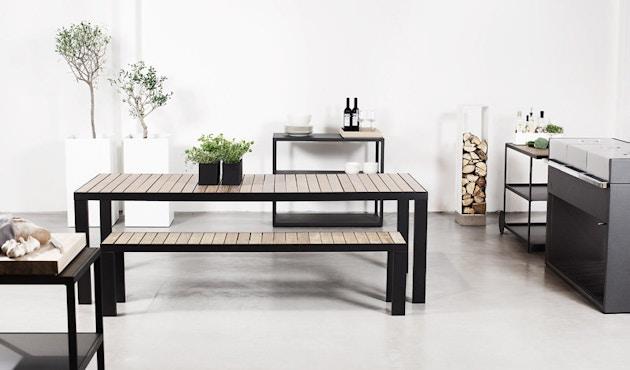 Röshults - Oplegkussen tuinstoel - grijs - 4