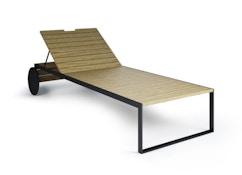 Röshults - Chaise longue de jardin - 7