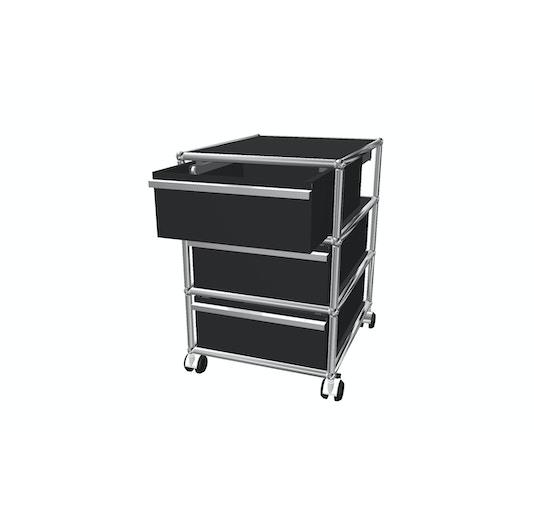 USM Haller - Rollcontainer - 3 Schubladen - 1