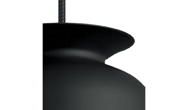 Gubi - Ronde Hängeleuchte - Ø20 - schwarz - 3