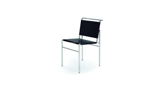 Classicon - Roquebrune Stuhl - Leder schwarz - Gestell schwarz - 1