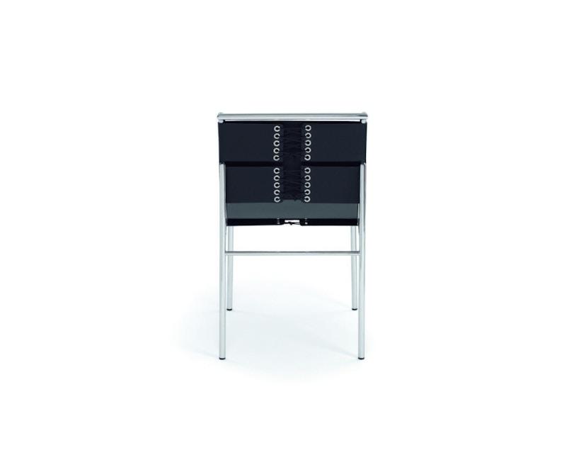 Classicon - Roquebrune Stuhl - Leder schwarz - Gestell schwarz - 2