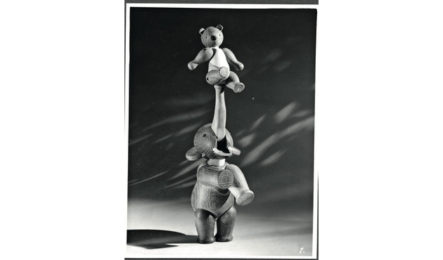 Kay Bojesen - Figurine en bois en forme d'éléphant - 12