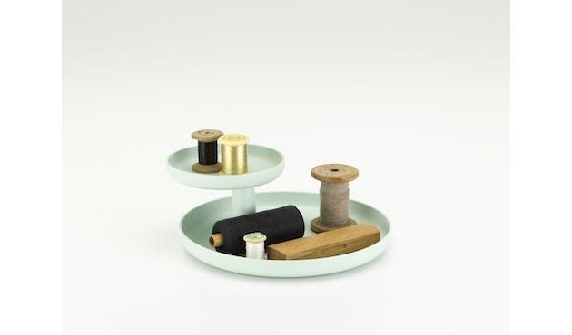 Vitra - Rotary Tray Etagere - mintgrün - 9