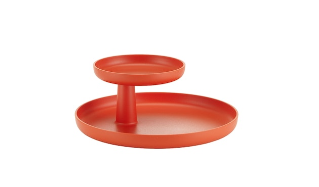 Vitra - Rotary Tray Etagere - poppy red - 4