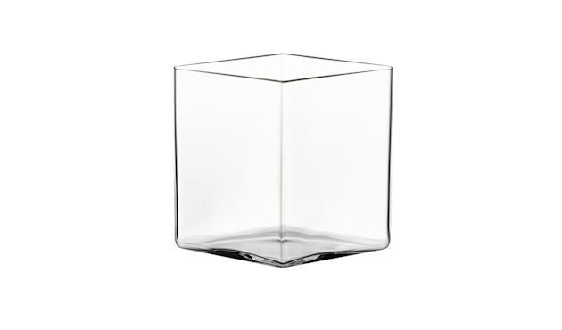 Iittala - Ruutu Vase, 20,5x18cm - klar - 1