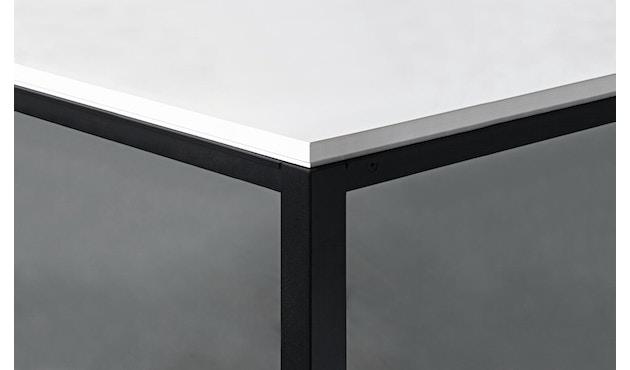 Janua - Table S 600 HPL - 80 cm - 80 cm - noir époxy - noir - 3
