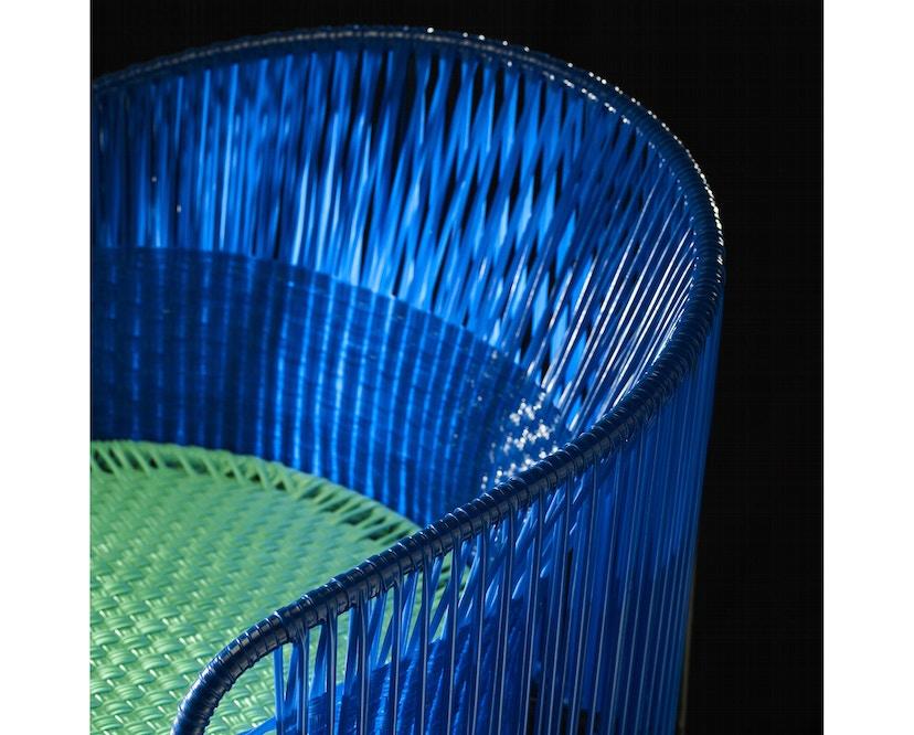 Ames - CARIBE Lounge-fauteuil - blauw/mint/zwart - 5