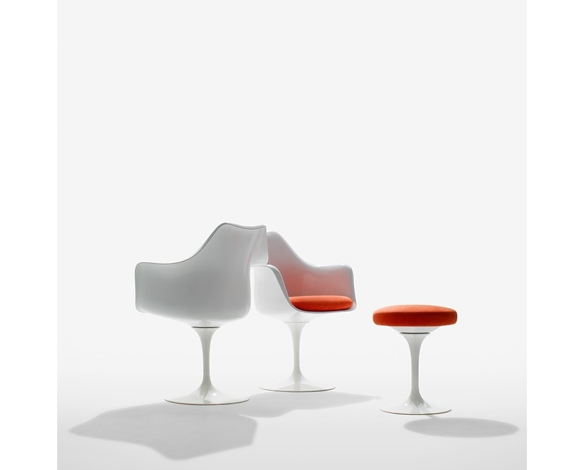 Knoll International - Chaise avec accoudoirs Saarinen Tulip - 8