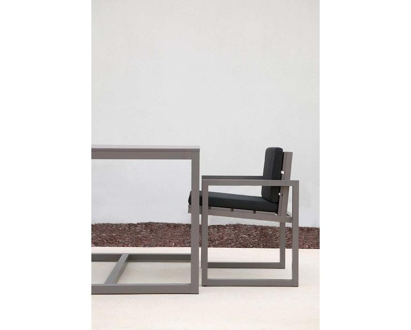 Gandia Blasco - Saler hoher Tisch S - eloxiert - 4