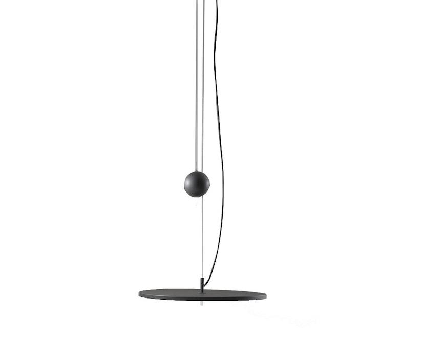 Santa & Cole - BlancoWhite D1 Hängeleuchte - graphit mit Gegengewicht - 1