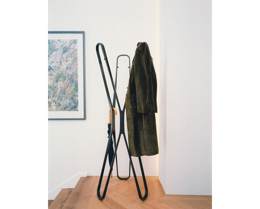 Classicon - Saturn Garderobenständer - schwarz - 8