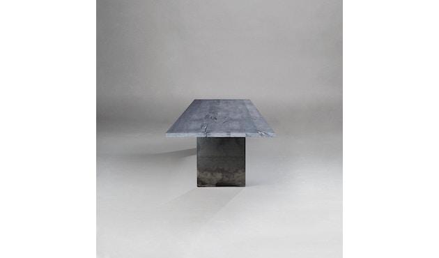 Janua - SC 41 tafel - Stefan Knopp - 180 cm - Eiken gekoold/ gekalkt - 90 cm - gepoedercoat zwart - 5