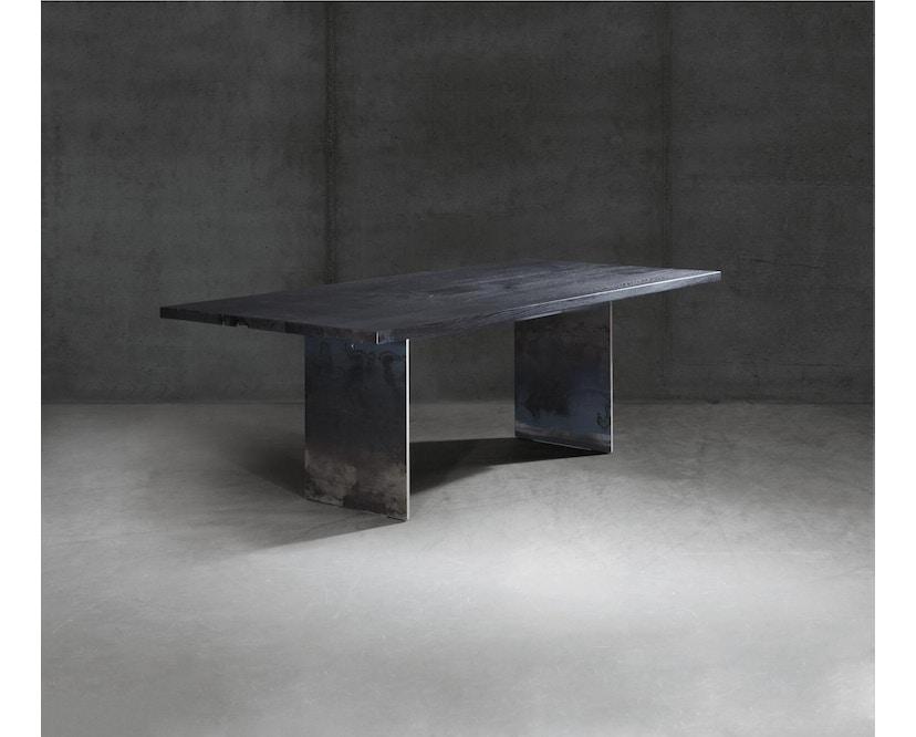 Janua - SC 41 Tisch - Stefan Knopp - Eiche geköhlt/ gekalkt (Ton grau) - Gestell Tiefschwarz - 180x90 - 6
