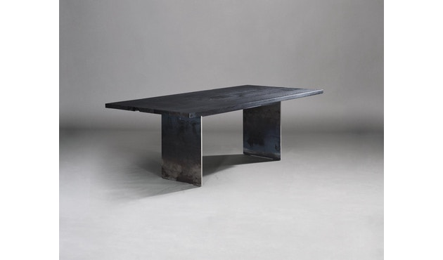 Janua - SC 41 Tisch - Stefan Knopp - Eiche geköhlt (Ton schwarz) - Gestell Tiefschwarz - 180x90 - 4