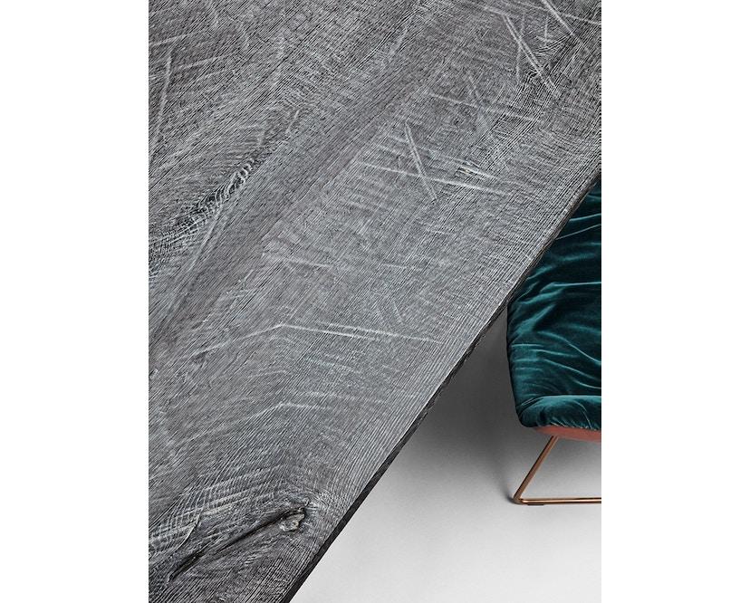 Janua - SC 58 tafel - Stefan Knopp - gepoedercoat zwart - Eiken gekoold/ gekalkt - 180 cm - 90 cm - 3