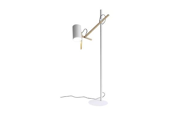 Marset - Scantling P73 Stehleuchte - weiß - Eiche - 1