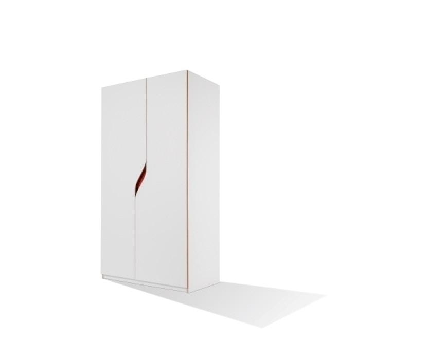 Müller Möbelwerkstätten - Plane Kleiderschrank - reinweiß - 1