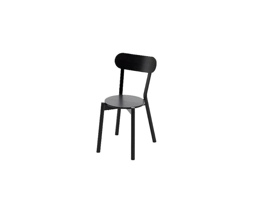Karimoku New Standard - Castor Stuhl - Eiche schwarz - 1