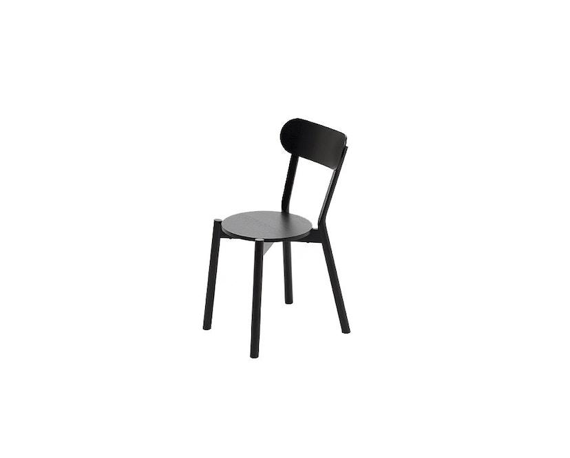 Karimoku New Standard - Castor Stuhl - Eiche schwarz - 2