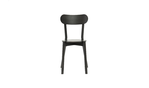 Karimoku New Standard - Castor Stuhl - Eiche schwarz - 3