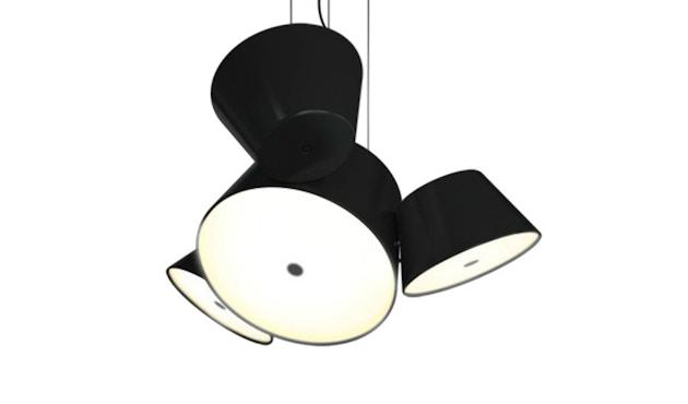 Marset - TAM TAM Mini-Leuchte  - Satellitenschirme schwarz - Mittelschirm schwarz - 4