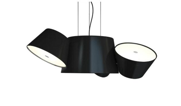 Marset - TAM TAM Mini-Leuchte  - Satellitenschirme schwarz - Mittelschirm schwarz - 3