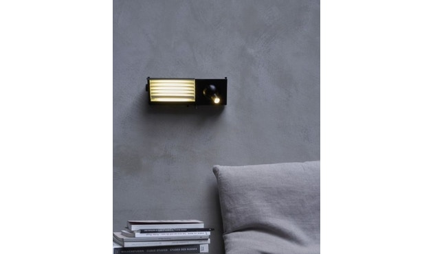 DCW éditions - BINY BEDSIDE wandlamp - zwart/wit - links - 4