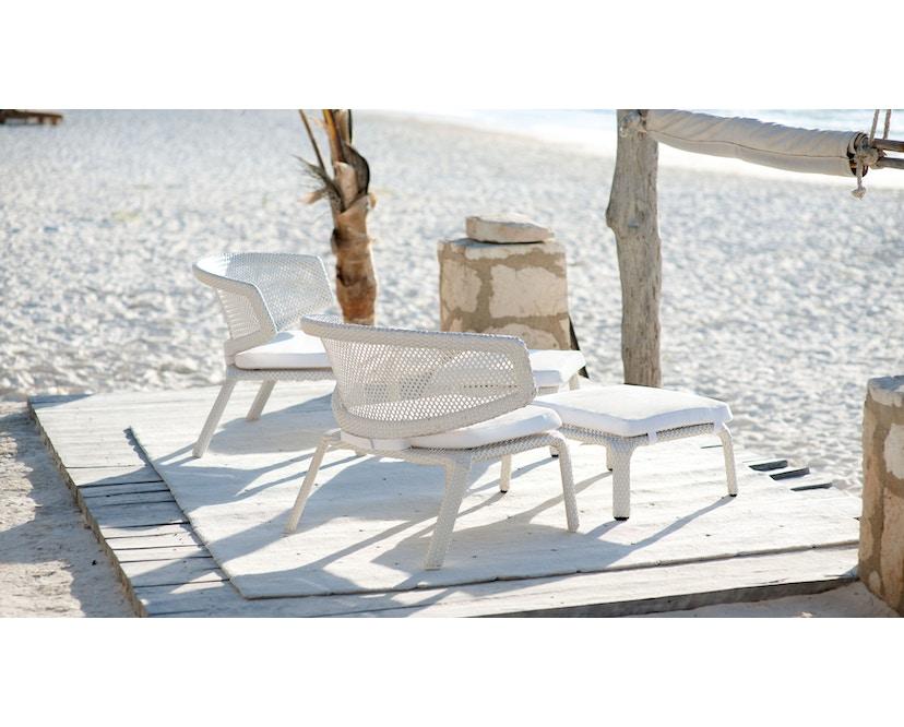 Dedon - Seashell armleunstoel - wit - 5