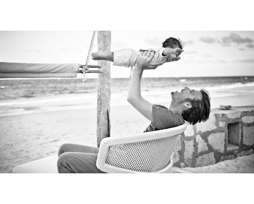 Dedon - Seashell Lounge Stuhl - bronze - 4