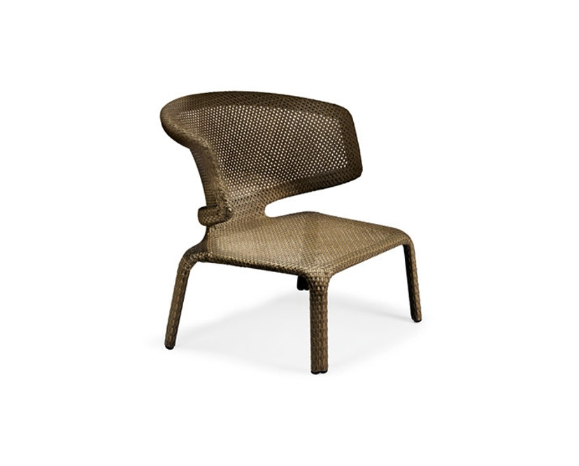 Dedon - Seashell Lounge Stuhl - bronze - 2