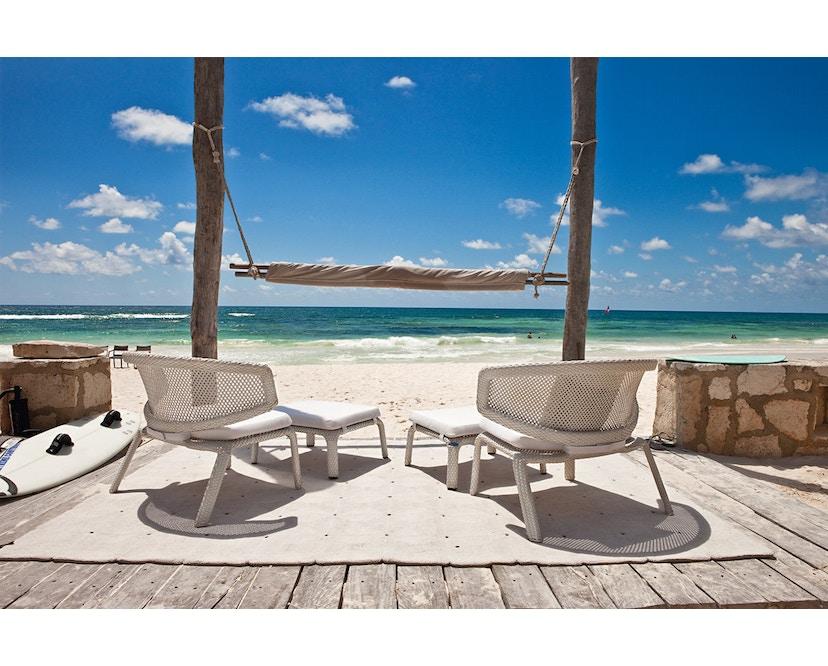 Dedon - Seashell Lounge Stuhl - chalk - 6