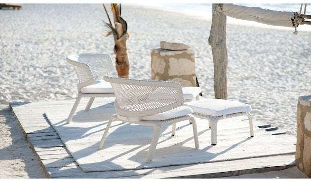 Dedon - Seashell Lounge Stuhl - chalk - 7