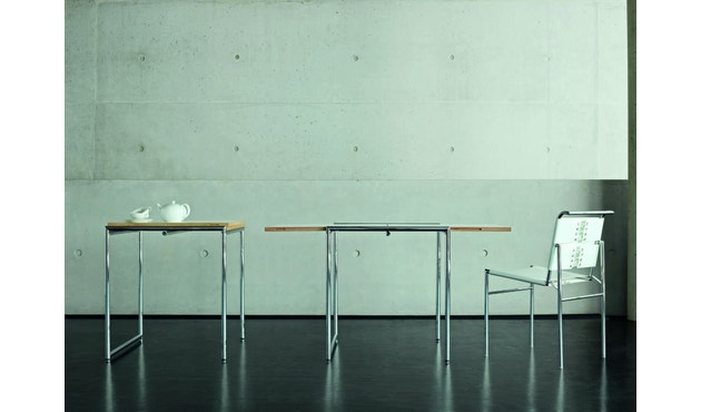 Classicon - Roquebrune Stuhl - Leder schwarz - Gestell schwarz - 3