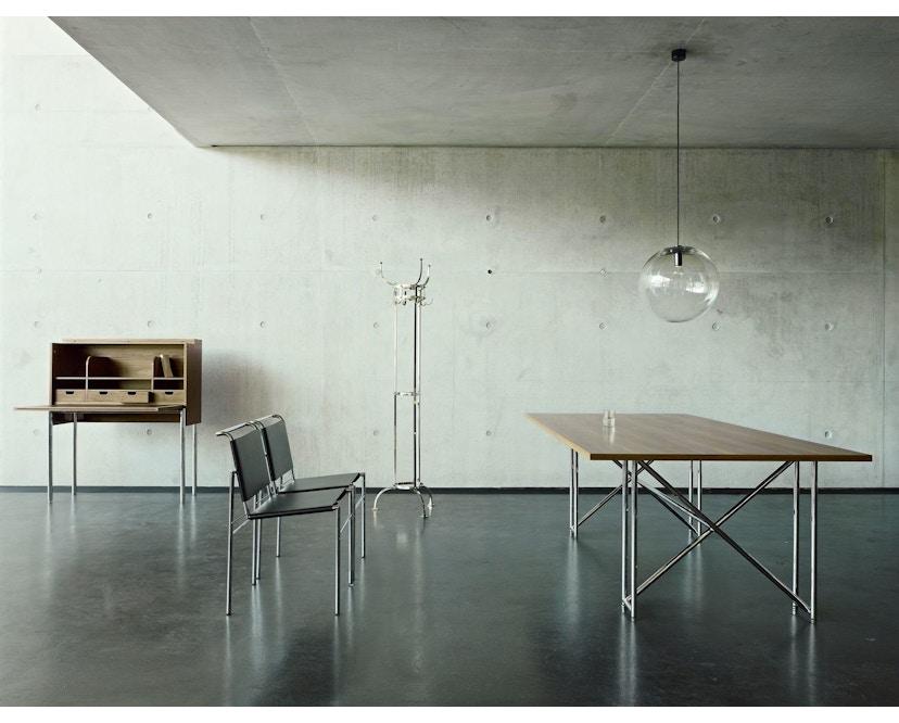 Classicon - Roquebrune Stuhl - Leder schwarz - Gestell schwarz - 4