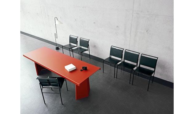 Classicon - Roquebrune Stuhl - Leder schwarz - Gestell schwarz - 5