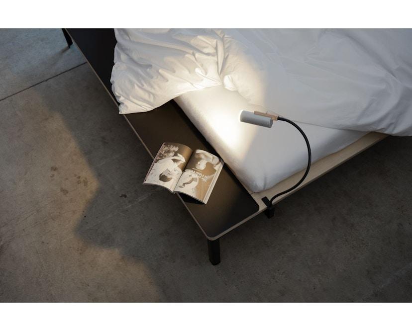 Moormann - Seiltänzer Bett - 140 x 200 cm - Seil rot - rot - 3