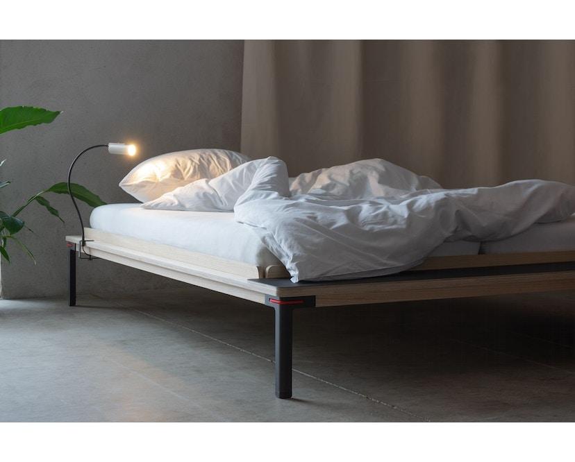 Moormann - Seiltänzer Bett - 140 x 200 cm - Seil rot - rot - 4