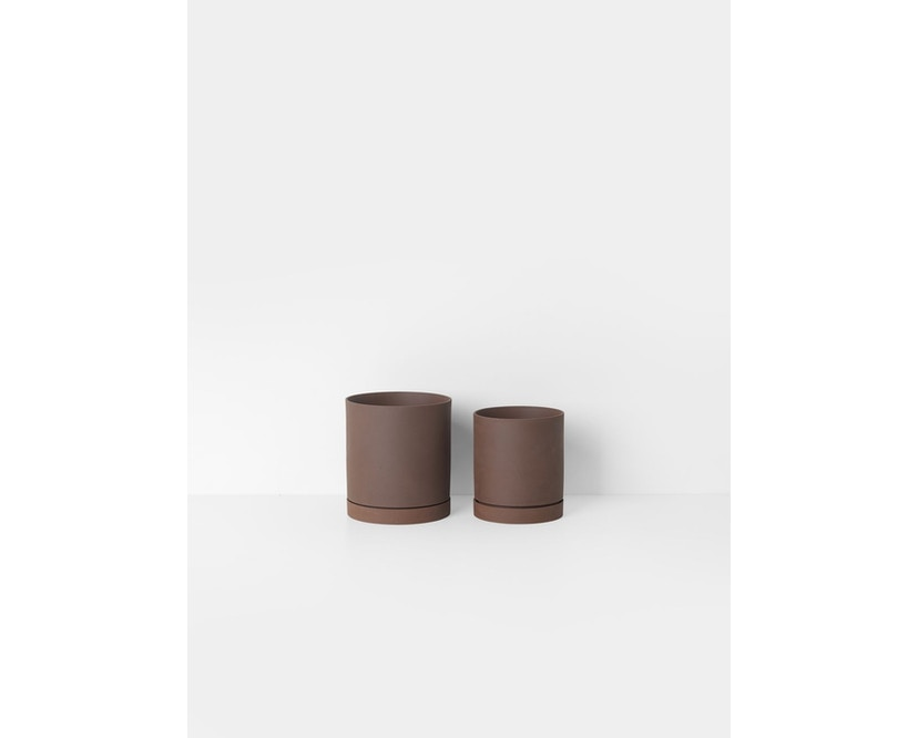 ferm LIVING - Sekki Blumentopf - Medium - rost - 2