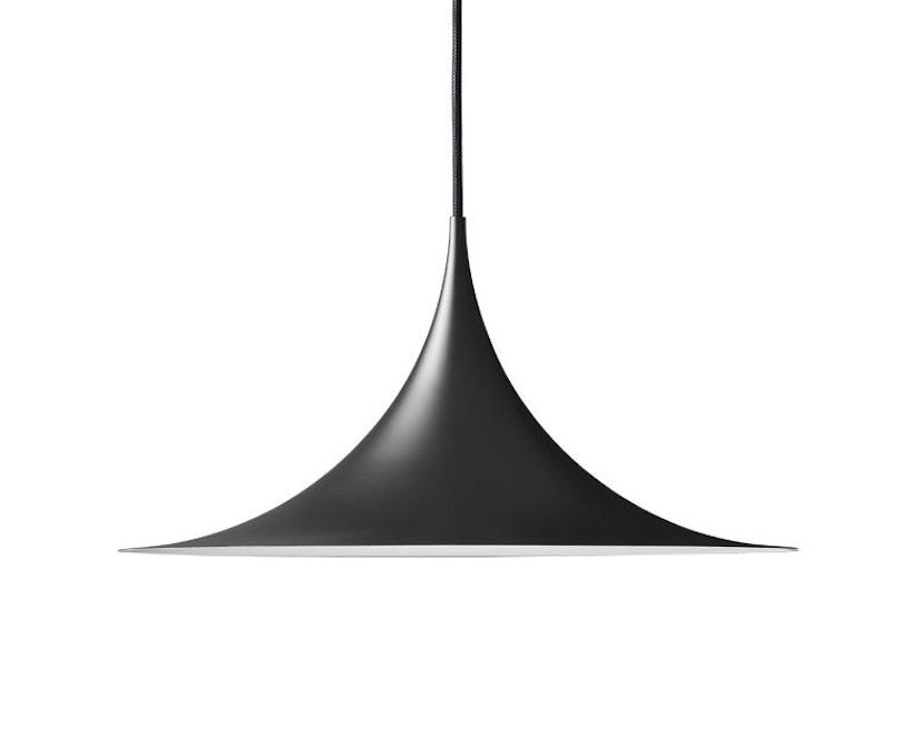 Gubi - Semi Pendant - Ø47 cm - schwarz - 1