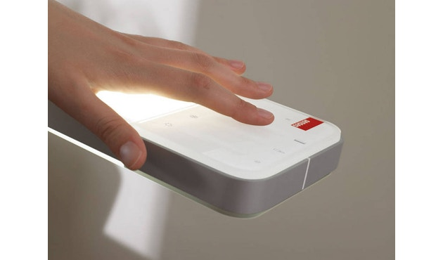 Senses - Touch aluminium - S - bediening boven - 5