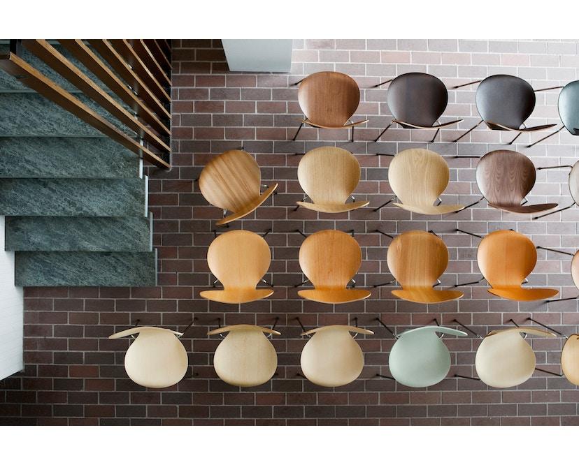Fritz Hansen - Serie Sieben 3107 - Holzfarben - 2