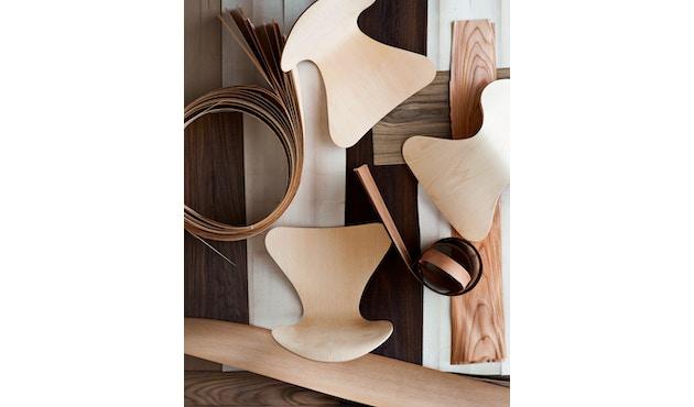 Fritz Hansen - Serie Sieben 3107 - Holzfarben - 4