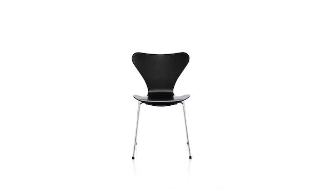 Fritz Hansen - Collection Sieben 3107 - vernis - verni noir - 1